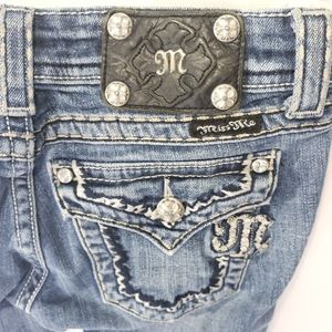 Miss Me Jeans Size 25  Boot JE5014B40X